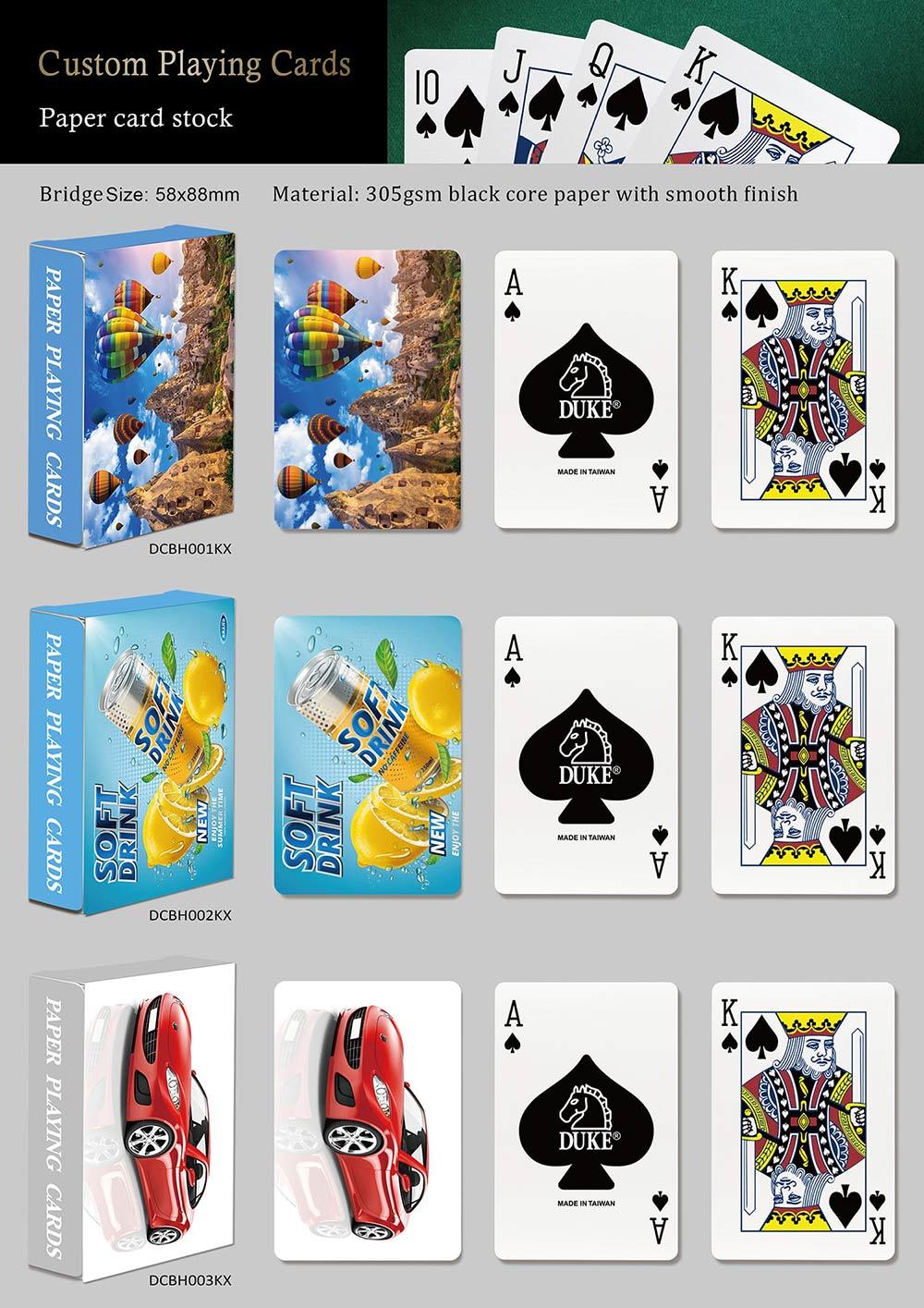 Souvenir playing cards - Landscape-Paper